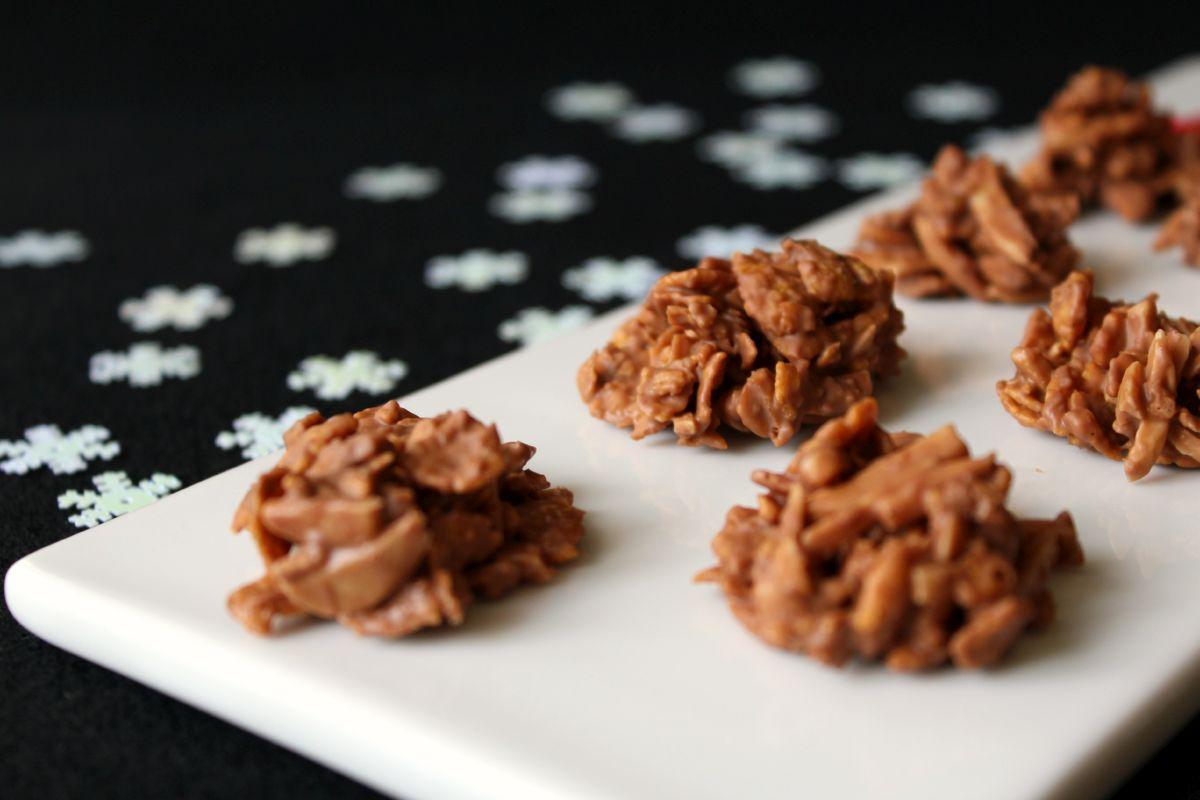 Schoko crossies rezept mit cornflakes