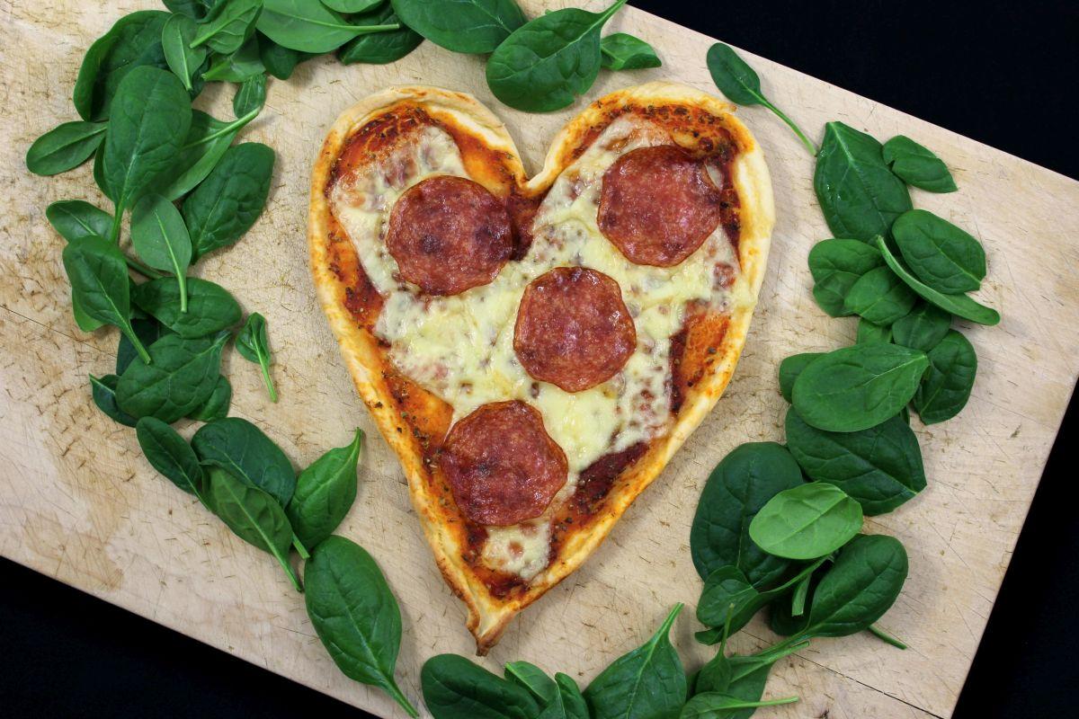 Eine Pizza Von Ganzem Herzen Christina Waitforit